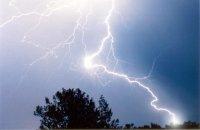Деревья чаще всего ударяет молния и