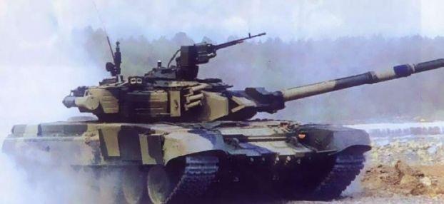 Фото и чертежи танка Т-90.