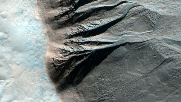 Снимки поверхности Марса (34 фото)