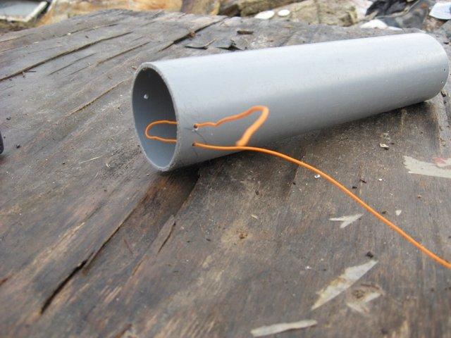 Труба из подручных материалов