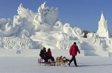 Фестиваль льда и снега (фото)