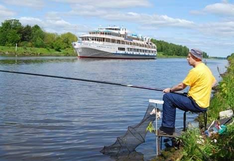 как ловить на канале им москвы