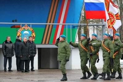 » Владимир Путин посетил 76-ю гвардейскую десантно-штурмовую