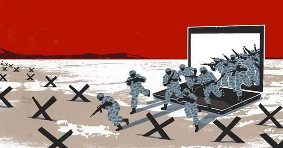 Политическая кибервойна началась