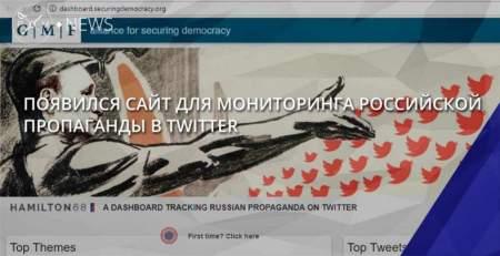 Hamilton 68 будет пристально следить за «пророссийскими» пропагандистами