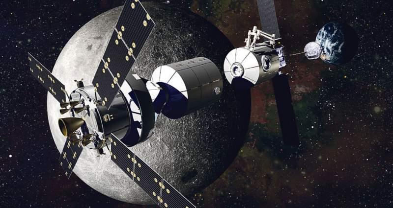 На Луну – всем миром