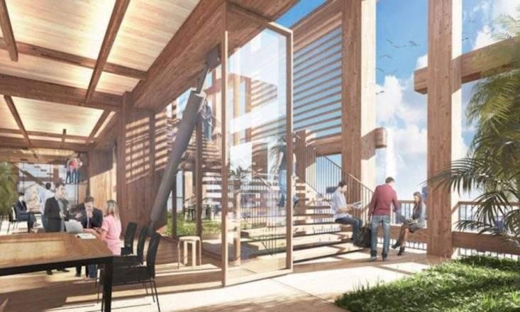 Над мегаполисами будущего будут возвышаться деревянные небоскребы