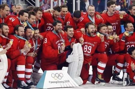 Владимир Путин поздравил «ледовую дружину» с победой на Олимпиаде
