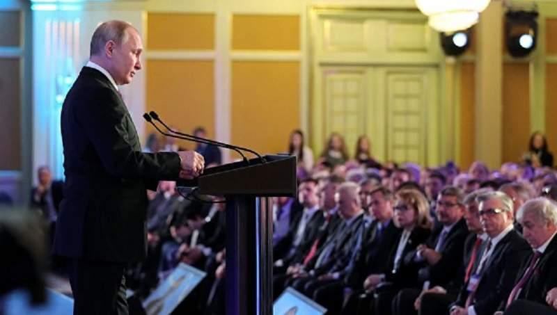 Владимир Путин: обратился с посланием к Федеральному Собранию. Прямая трансляция