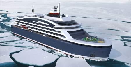 Уникальные технологии: в России планируют строительство круизного ледокола