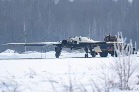 Фотографии 20-тонного ударного дрона С-70 «Охотник» утекли в сеть