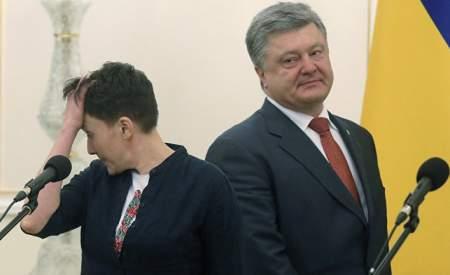 Савченко припугнула Порошенко страшным майданом