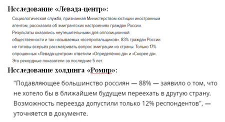 Геополитические игры русофобов: «Эхо Москвы» тиражирует фейк о желании россиян сбежать из страны