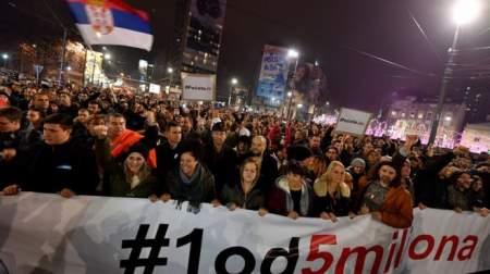 Знакомый сценарий: кто стоит за протестами в Сербии?