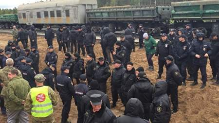 Кто стоит за организацией протестов в Шиесе