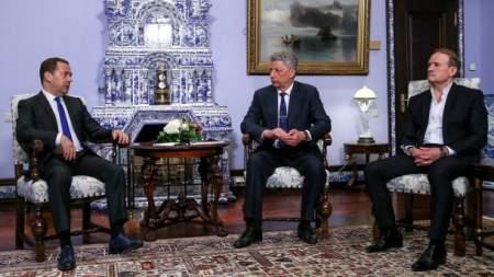 Премьер-министр РФ озвучил Медведчуку и Бойко варианты решения газового вопроса