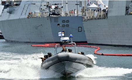 Китайцы назвали цирком военные учения США и Украины в Черном море