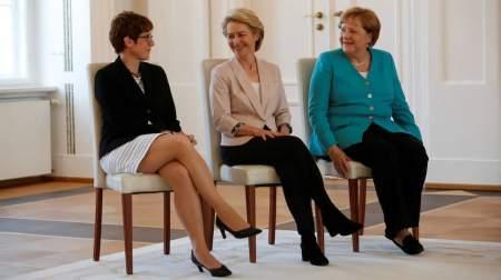 Женщины управляют Европой, потеснив мужчин в сторону