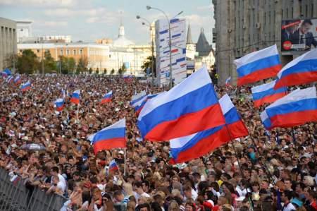 Праздничный концерт на проспекте Академика Сахарова посетили более 100 тысяч человек