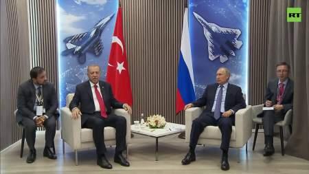 МАКС – 2019 только стартовал, а Путин и Эрдоган уже успели многое обсудить (видео в посте)