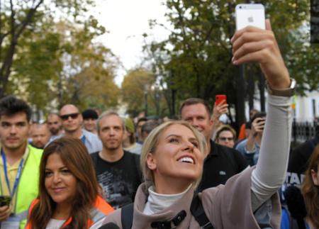 Новые технологии навальнистов: митинг в Москве освещал порноканал