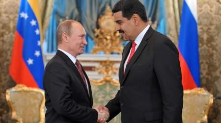 Мадуро и Путин встретились за рабочим завтраком