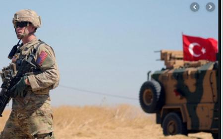 Турция обстреляла военных США в Сирии