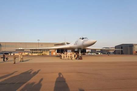 Ракетоносец Ту-160 осваивает южные широты