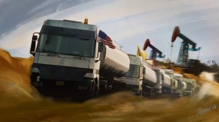 Сирия теряет ресурсы: США грабят нефтяные месторождения республики