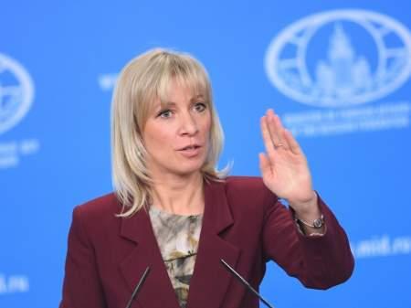Захарова считает, что Украина не справляется с разведением сил