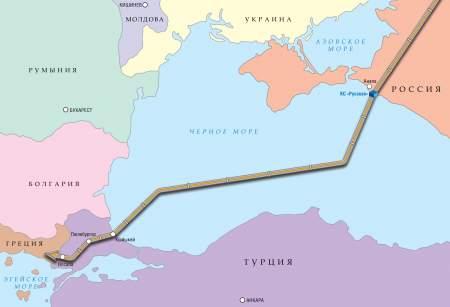 Эрдоган, Путин, Вучич и Борисов дали старт работе «Турецкого потока»