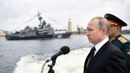 Современное вооружение флота должно составлять 70% - Путин