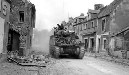 Вторая мировая война: освобождение Польши и Чехословакии