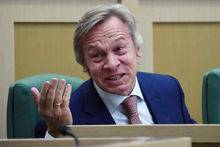 Пушков сравнил ответ МИД Британии на слова Путина об однополых семьях с шуткой Зеленского