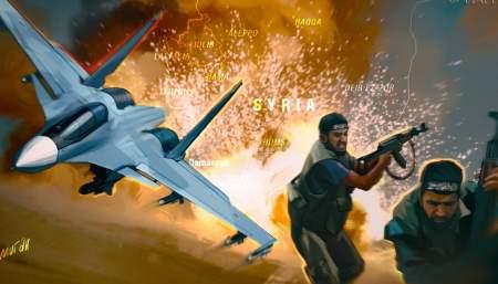 Российская авиация нанесла удары по позициям террористов в Идлибе