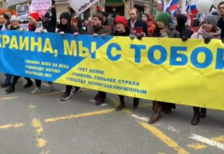 Забыли и забили: на «Марше Немцова» про Немцова не вспоминали