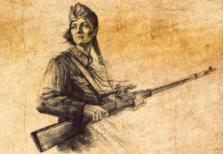 Беспримерный подвиг женщин в годы Великой Отечественной войны