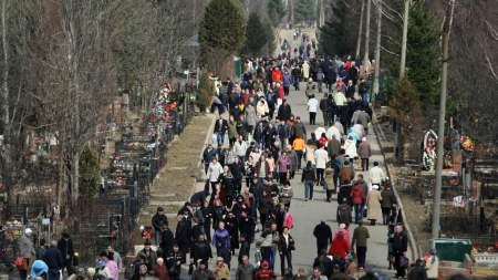 Эпидемиологические меры коснулись и кладбищ Москвы