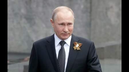 Президент поздравил граждан России с Днем Победы