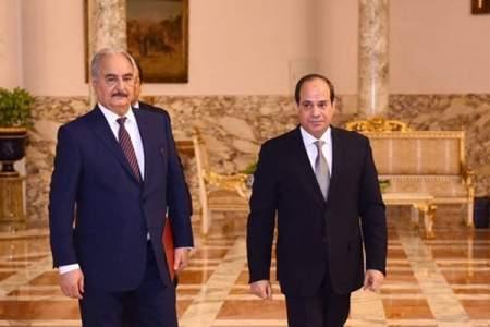 Ас-Сиси предложил Хафтару и Салеху полностью приостановить боевые действия в Ливии, начиная с 8 июня