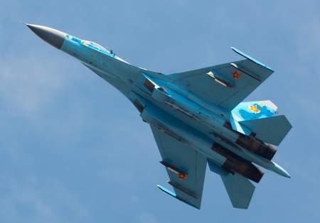 Российские Су-27 вмешались в военные учения НАТО над балтийским морем