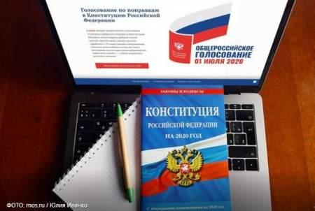 Ответив лишь на один вопрос, москвичи смогут протестировать систему электронного голосования по обновлениям в Конституции