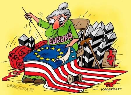 Проамериканские холуи в Германии объявили войну России