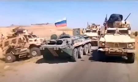 Российские солдаты в очередной раз проучили американцев в Сирии, напугав   крупнокалиберным пулемётом Владимирова