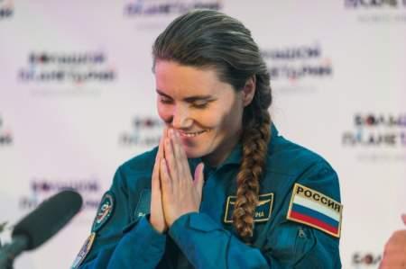 Через два года единственная женщина-космонавт «Роскосмоса» отправится на МКС
