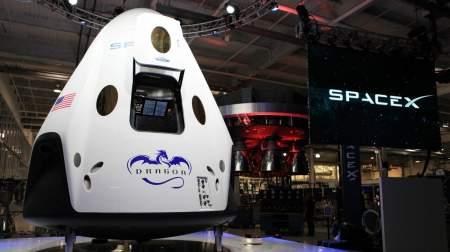 «Роскосмос» выпустил статью и минусах космического корабля Crew Dragon