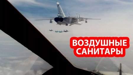 Российская боевая авиация в Сирии произвела полную утилизацию лагеря противника под носом у Турции