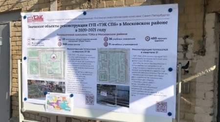 Петербуржцы могут получить информацию о ремонте теплосетей с помощью специального QR-кода