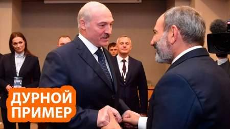 Лукашенко хочет по примеру Пашиняна втянуть Россию в войну
