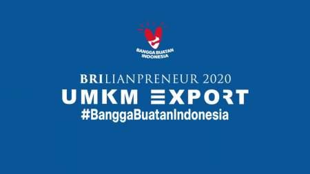 BRI UMKM EXPO[RT] BRILIANPRENEUR 2020 познакомит ММСП с миром